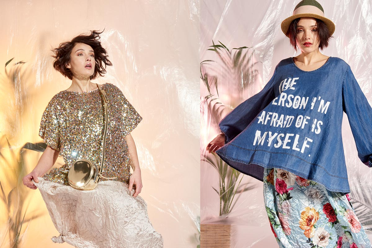 ff1d55407552 Materiali ricercati e sfumature colorate  la donna Curvy è pronto moda a  proprio agio in ogni situazione. Scopri come portarla nel tuo punto vendita.